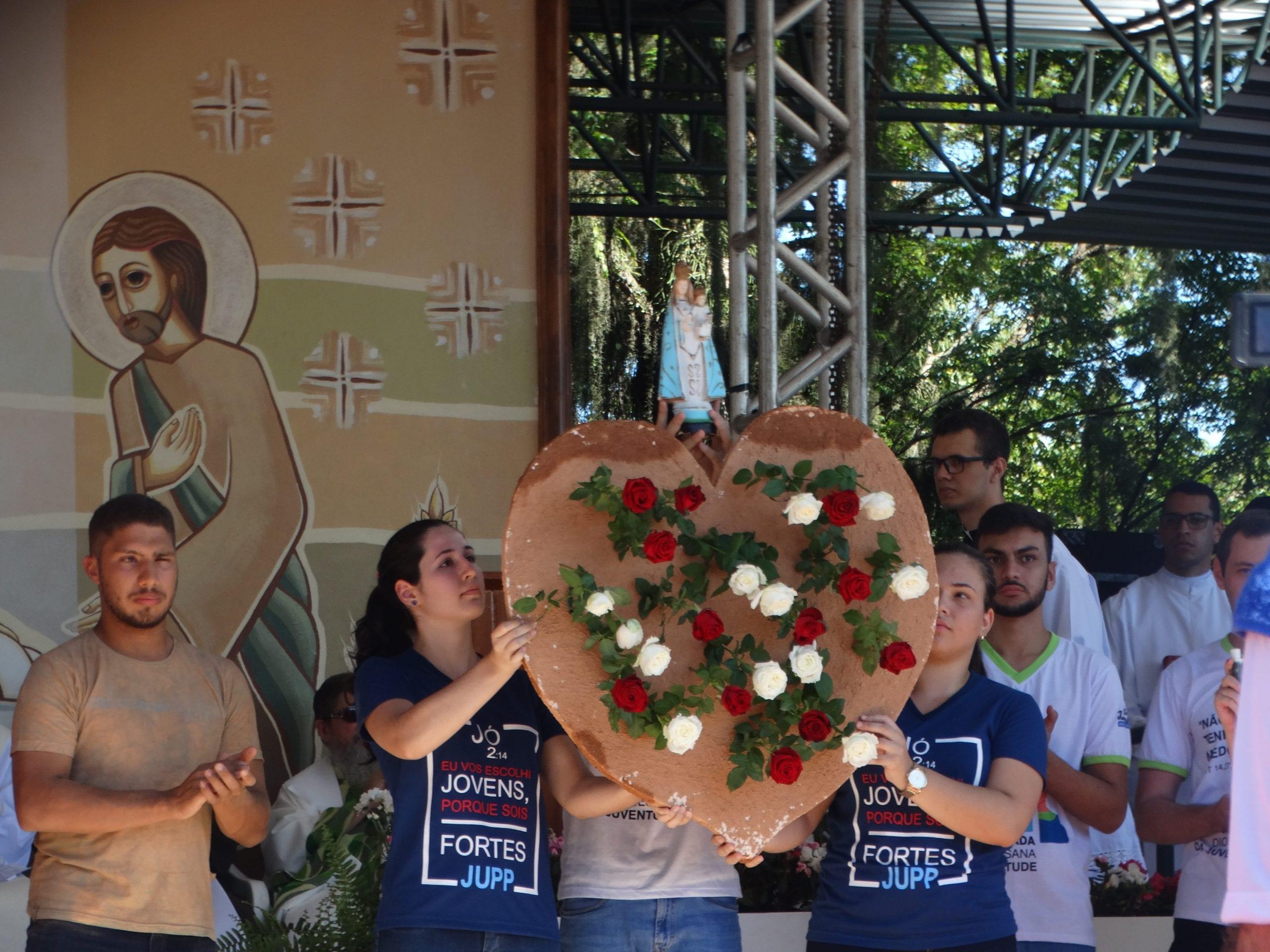 #tbt da Festa da Penha 2019: Diocese de Colatina lembra tragédia de Brumadinho