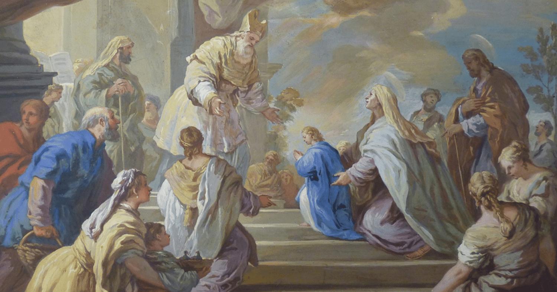 21 de novembro: Apresentação de Nossa Senhora no Templo