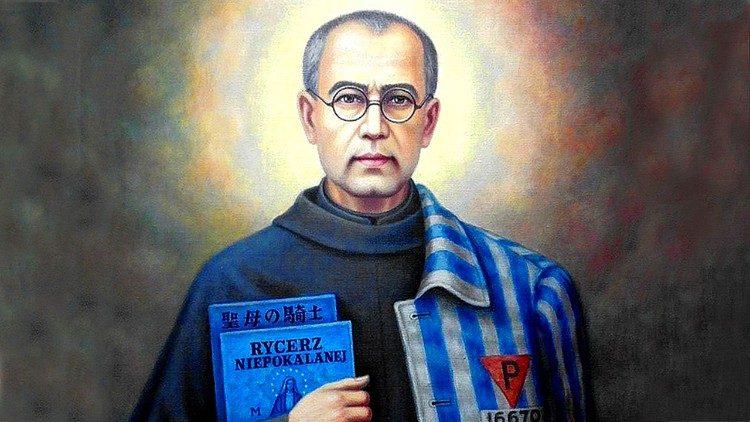 """São Maximiliano Kolbe: """"Ave Maria"""" é a síntese de sua vida"""
