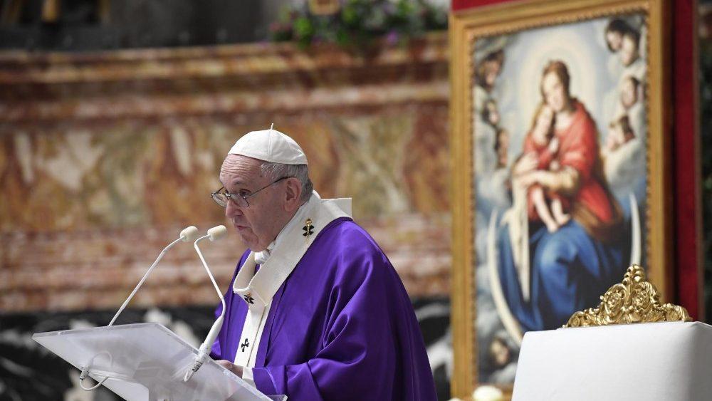 Papa: não se pode ser cristão sem caridade