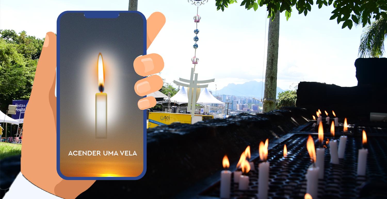 A vela virtual tem o mesmo valor que uma vela de verdade?