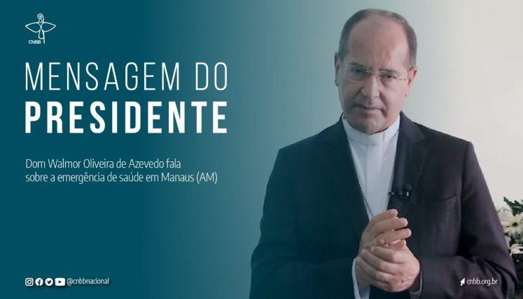 """CNBB convoca solidariedade ao povo de Manaus: """" é preciso ajudar!"""""""