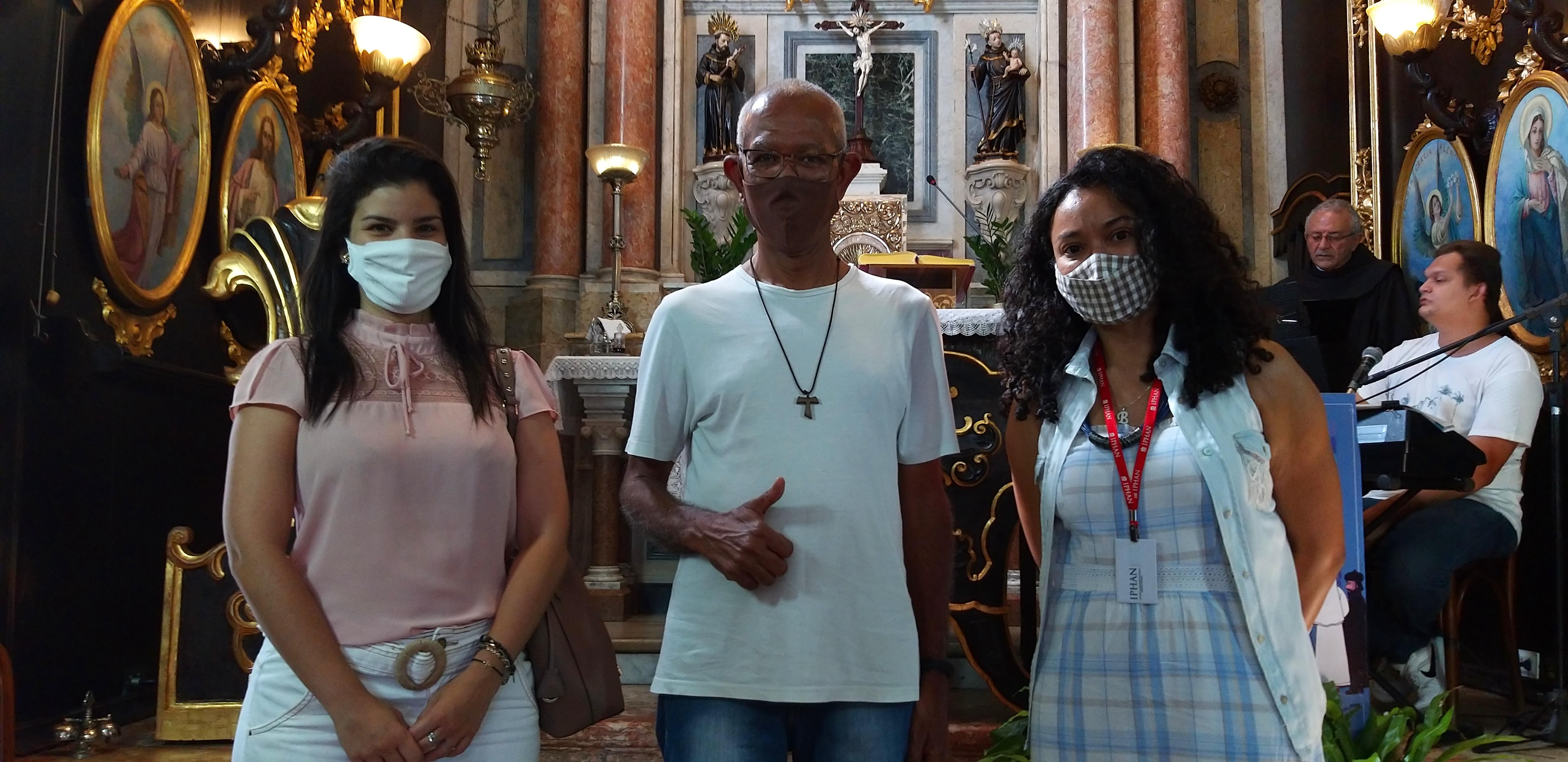 IPHAN realiza visita para acompanhar ações de conservação do Convento