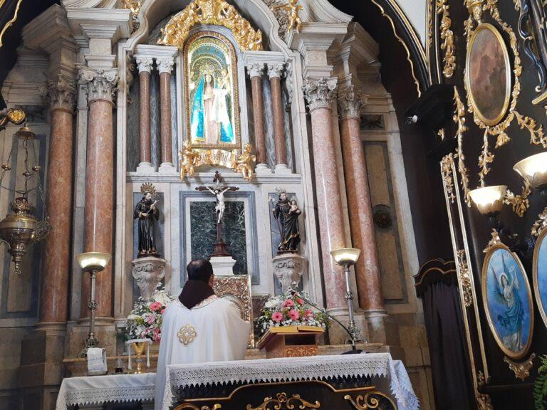 """Frei Adriano: """"A paz de Jesus não é ausência de conflitos"""""""