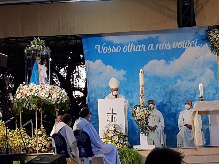 """Dom Dario: """"Maria, nos acompanhe neste momento difícil da história mas não nos deixe perder a alegria e a esperança"""""""