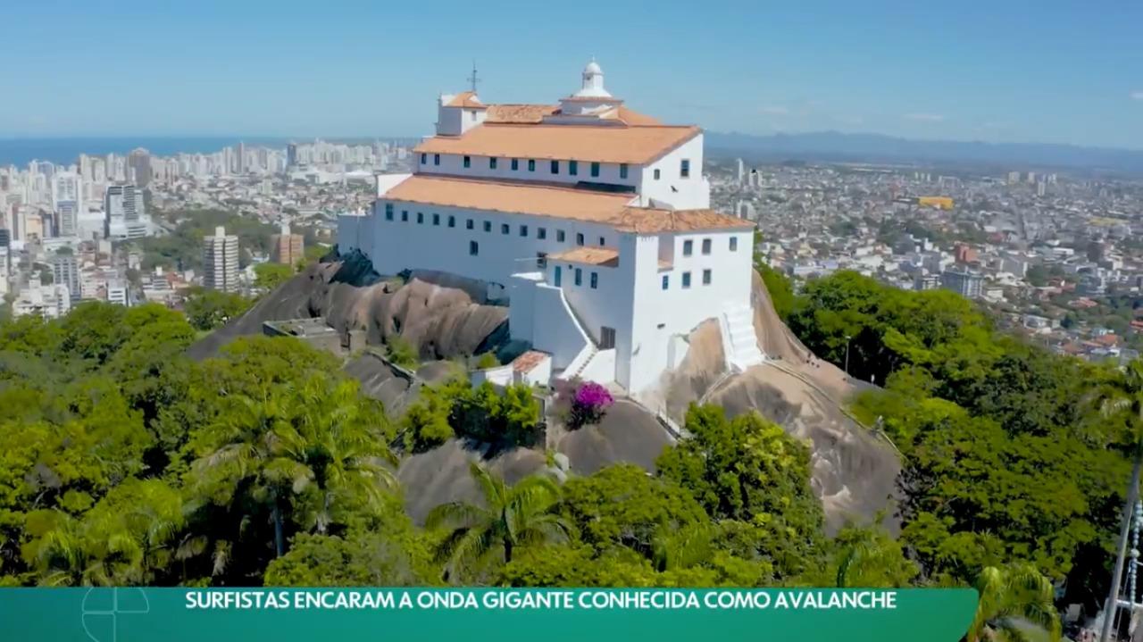 """Convento da Penha é destaque em reportagem no """"Esporte Espetacular"""" da TV Globo"""