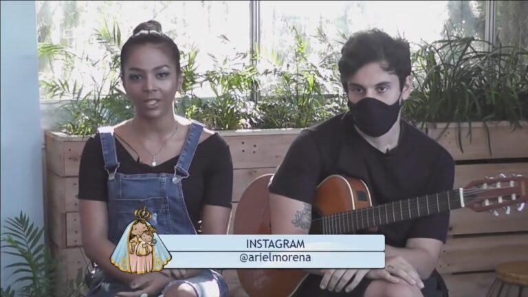 Tbt da #FestadaPenha2021: Ariel Morena no Salve Mãe das Alegrias