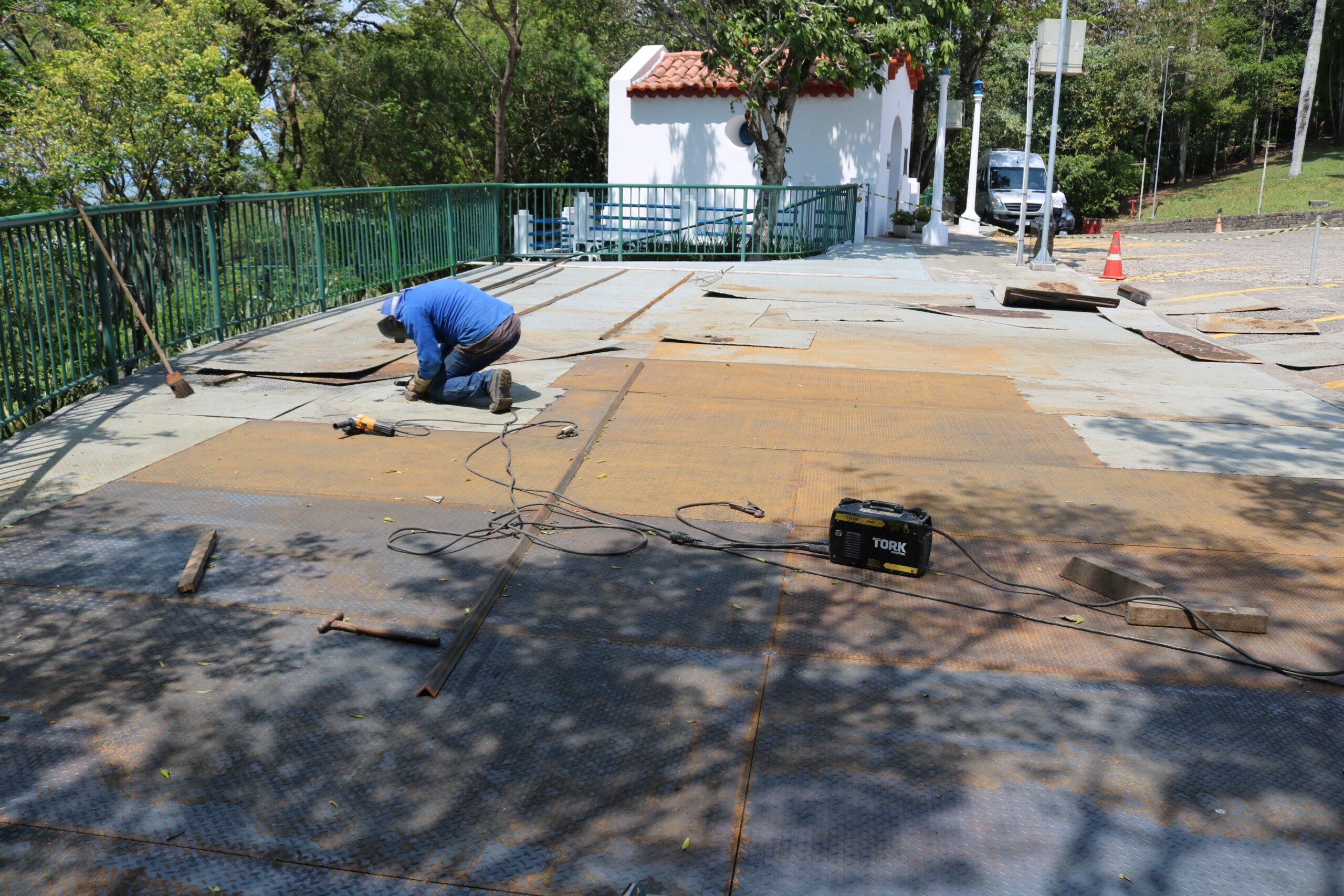 Convento realiza obras de revitalização dos mirantes