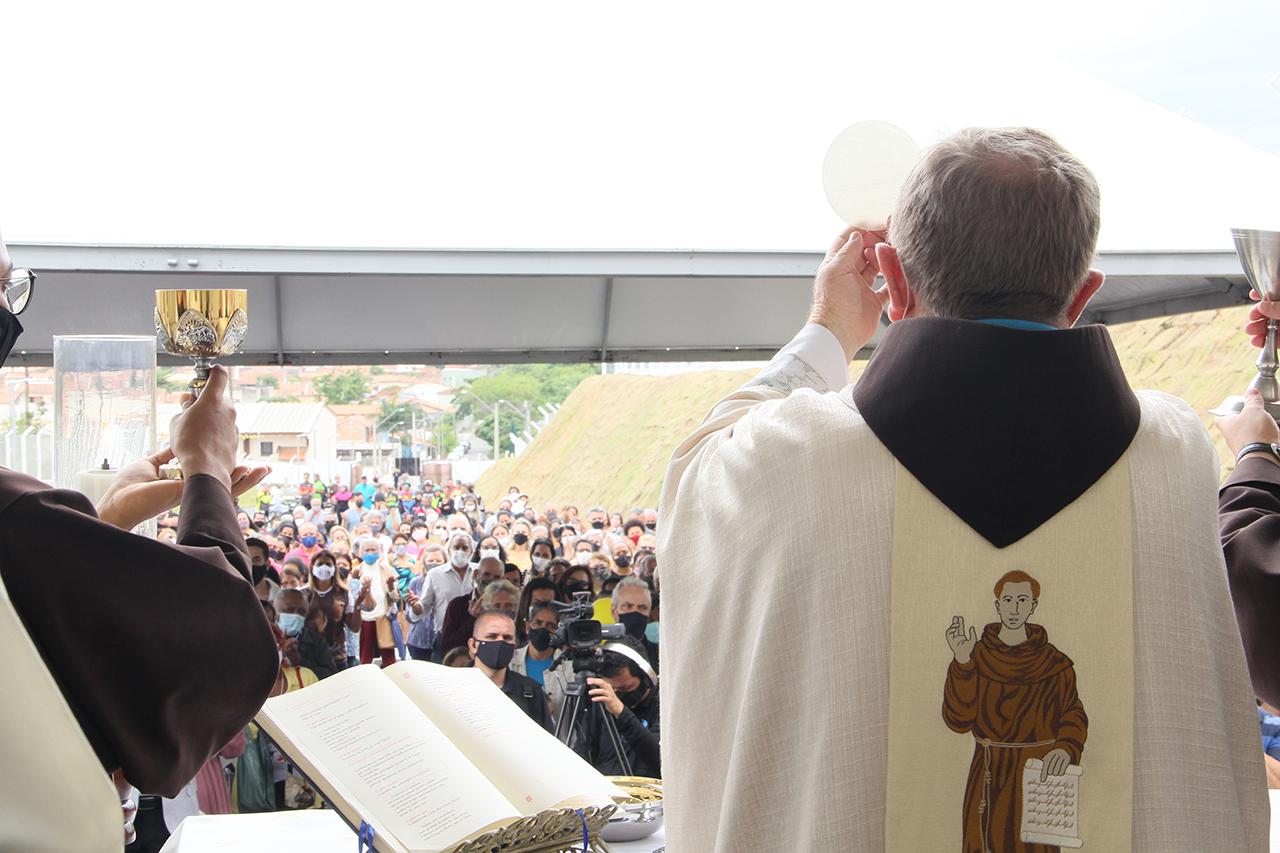 """Frei Fidêncio: """"O Santuário Frei Galvão já existe no coração de todas as pessoas"""""""